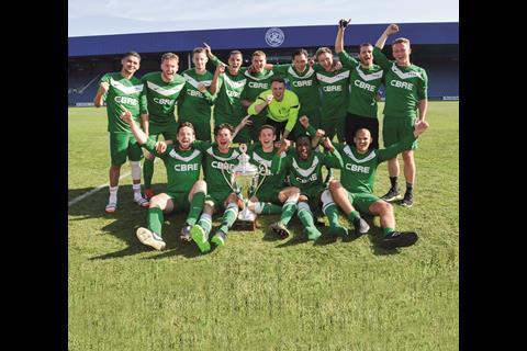 Cup winners CBRE